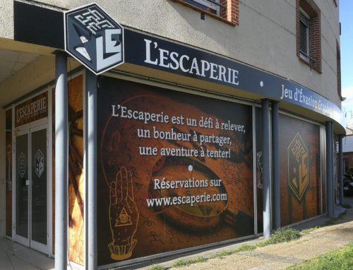 L'ESCAPERIE OUVRE SES PORTES LE 15 MARS !